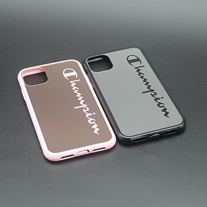 Etui HYZ Mirror Electroplate pour iPhone 11